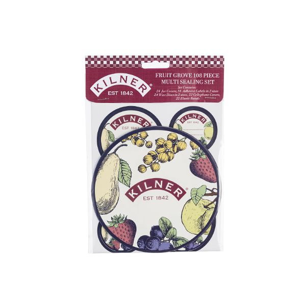Kilner Fruit Grove 108 Piece Sealing Set