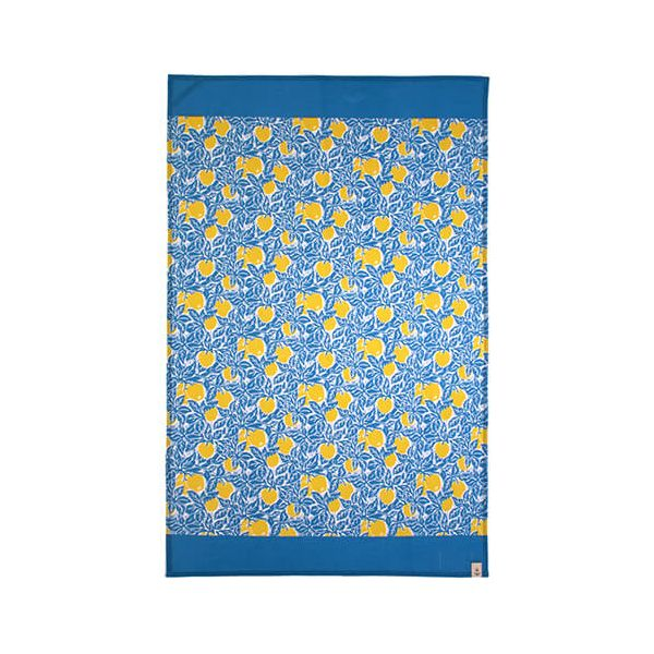 Seasalt Crab Apples Cotton Tea Towel