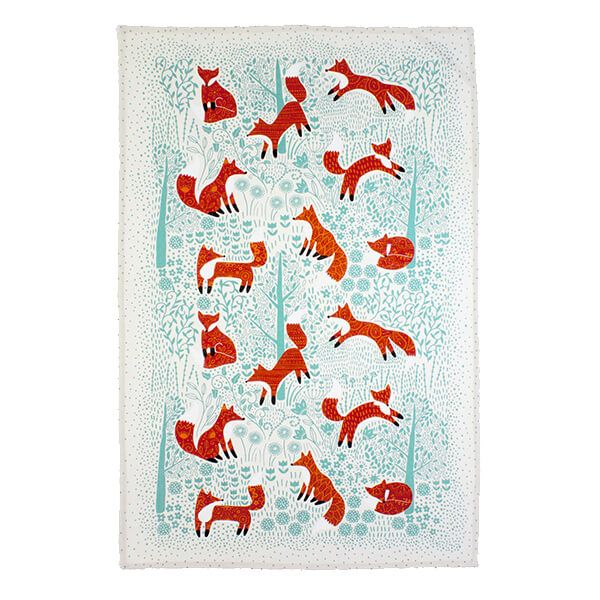 Ulster Weavers Foraging Fox Tea Towel