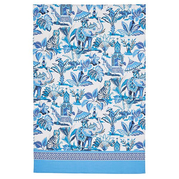 Ulster Weavers India Blue Cotton Tea Towel