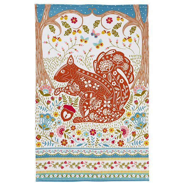 Ulster Weavers Tea Towel Squirrel