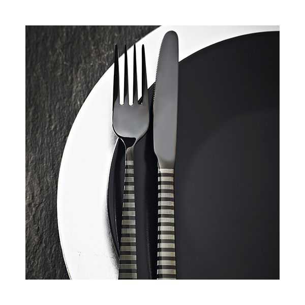 Viners High Fashion Eminence Black 16 Piece Cutlery Set
