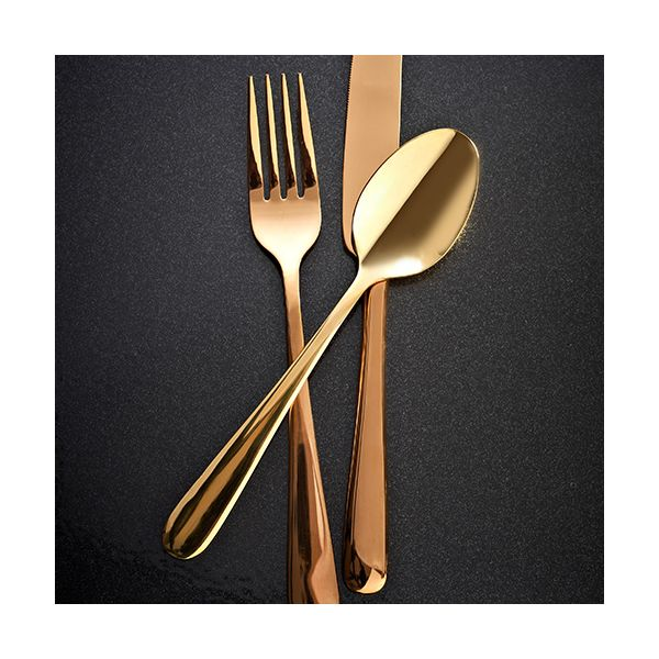 Viners High Fashion Exclusives Rose Gold 16 Piece Cutlery Set