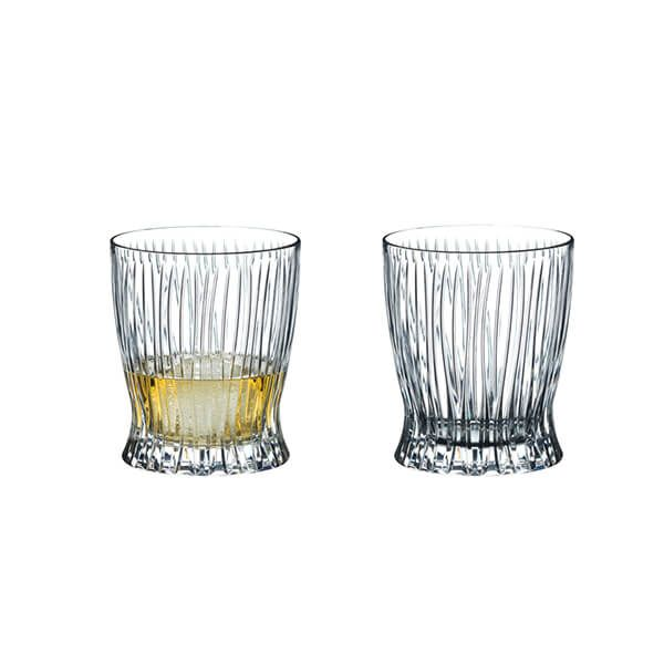 Riedel Fire Whisky Glasses Set Of 2