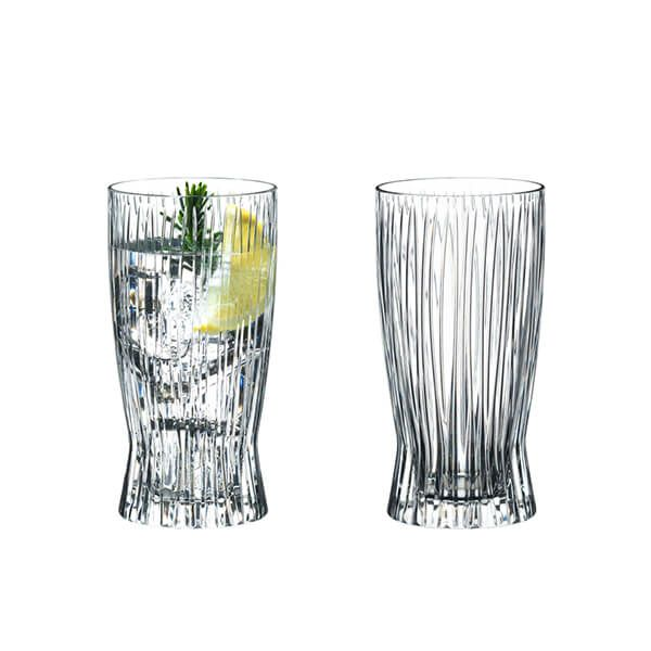 Riedel Fire Long Drink Glasses Set Of 2