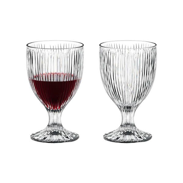 Riedel Fire All Purpose Tumblers Glasses Set Of 2