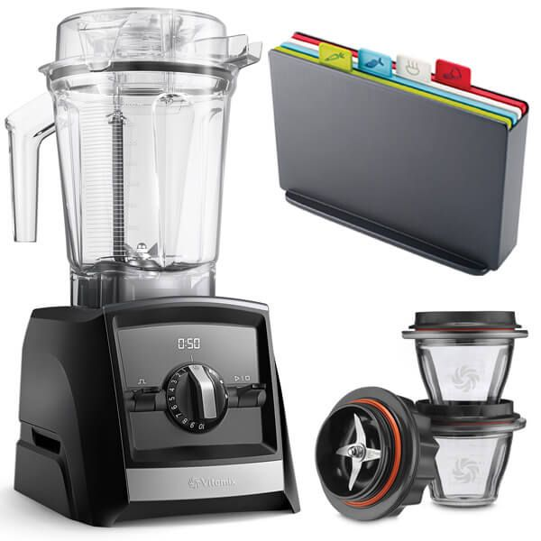Vitamix A2500i Ascent Series Blender Black with FREE Gifts