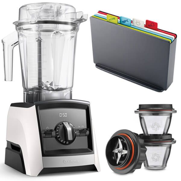 Vitamix A2500i Ascent Series Blender White with FREE Gifts