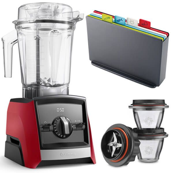 Vitamix A2500i Ascent Series Blender Red with FREE Gifts