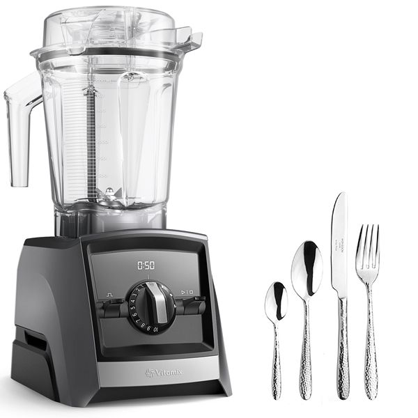 Vitamix A2500i Ascent Series Blender Slate with FREE Gift