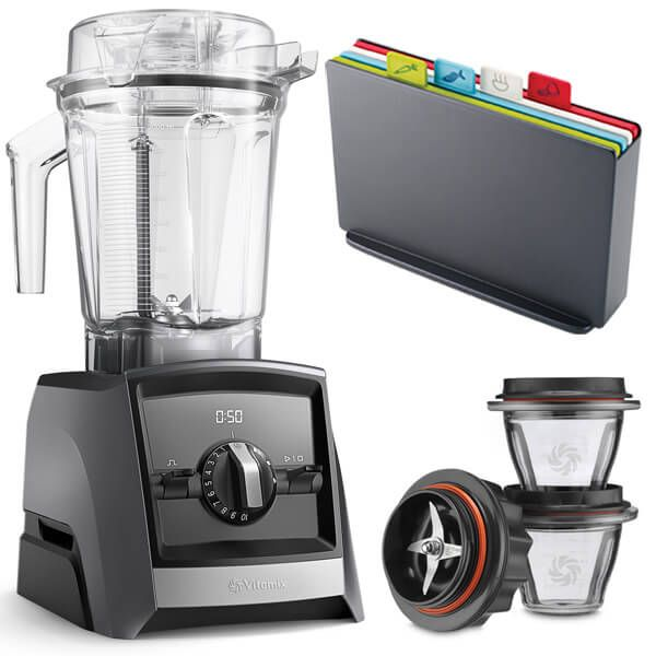 Vitamix A2500i Ascent Series Blender Slate with FREE Gifts