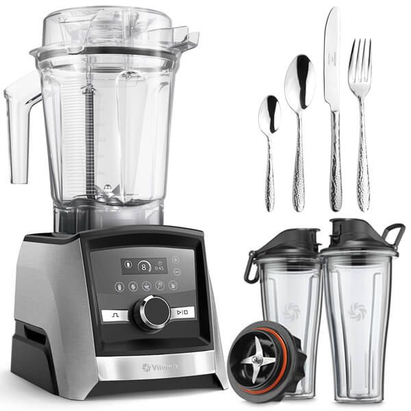 Vitamix A3500i Ascent Series Blender Silver with FREE Gifts