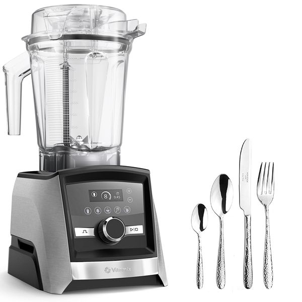 Vitamix A3500i Ascent Series Blender Silver with FREE Gift