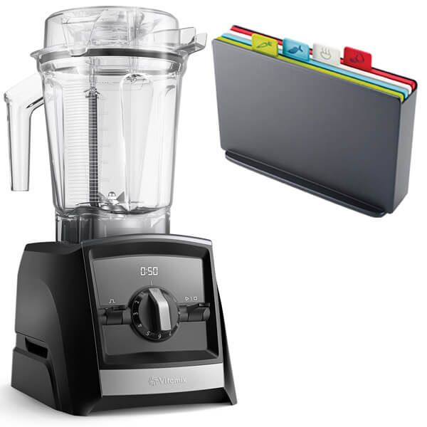 Vitamix 2300i Ascent Series Blender Black with FREE Gift