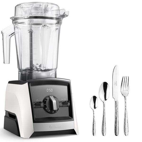 Vitamix 2300i Ascent Series Blender White with FREE Gift