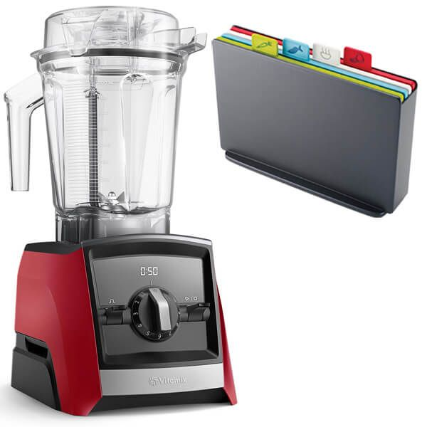 Vitamix 2300i Ascent Series Blender Red with FREE Gift