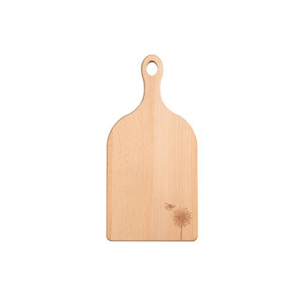 T&G Cottage Garden Small Handled Beech Chopping Board