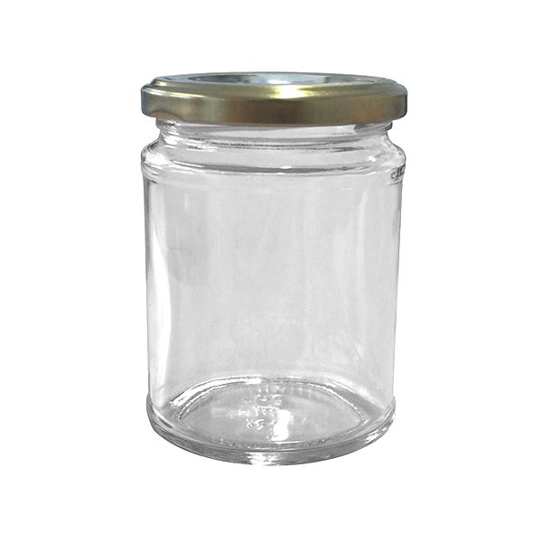 Set Of Six 300ml Jam Jars & Lids