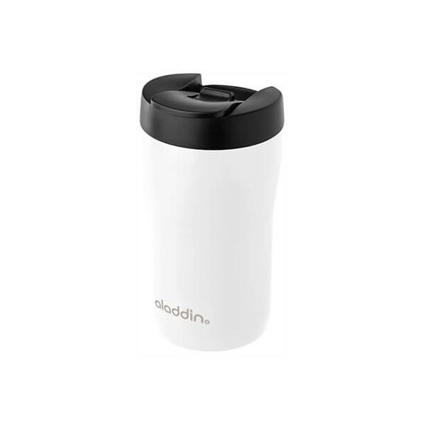 Aladdin 250ml Leak-Lock White Latte Travel Mug