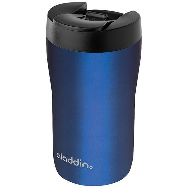 Aladdin 250ml Leak-Lock Blue Latte Travel Mug