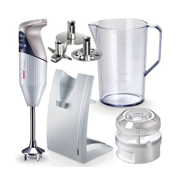 Bamix Swissline White 200W Hand Blender