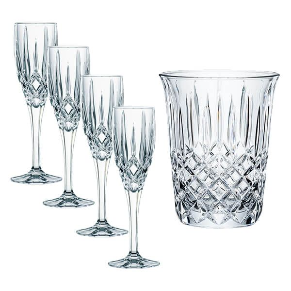 Nachtmann Noblesse Celebration 5 Piece Set