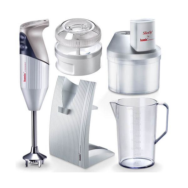 Bamix Superbox White 200W Hand Blender