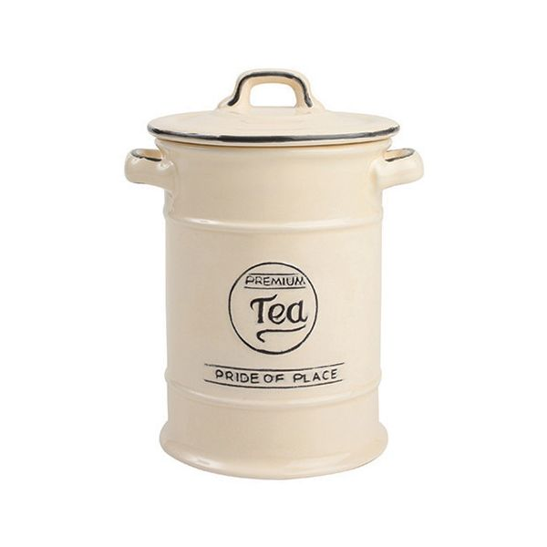 T&G Pride Of Place Tea Jar Old Cream