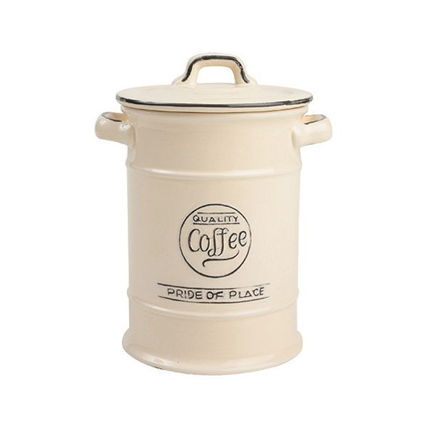 T&G Pride Of Place Coffee Jar Old Cream