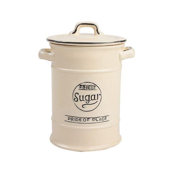 T&G Pride Of Place Sugar Jar Old Cream