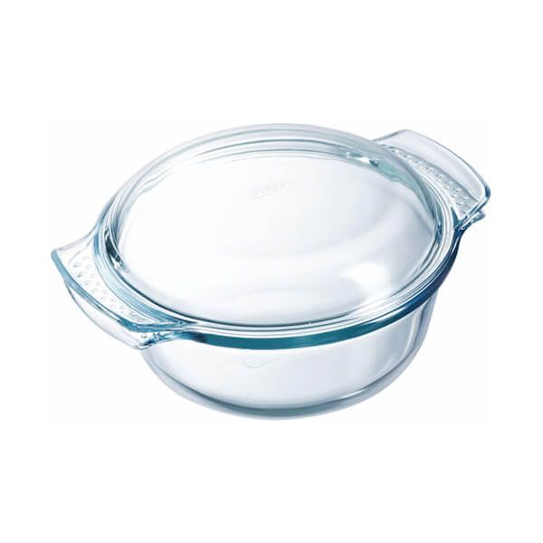 Pyrex Classic 1.0L Round Casserole Easy Grip