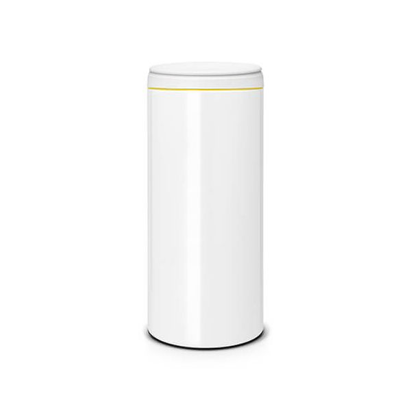 Brabantia Flip Bin 30 Litre White / Light Grey