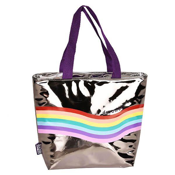 Polar Gear Colour Pop Rainbow Lunch Tote Cool Bag