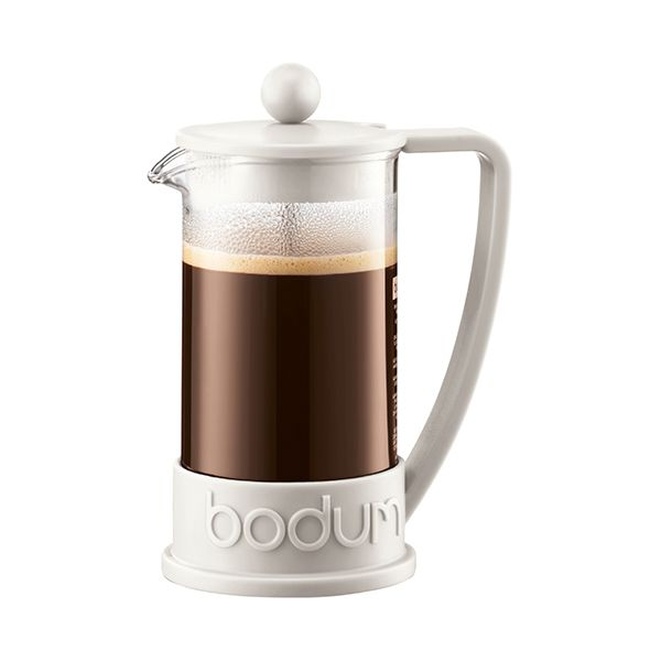 Bodum Brazil Coffee Press 8 Cup Off White