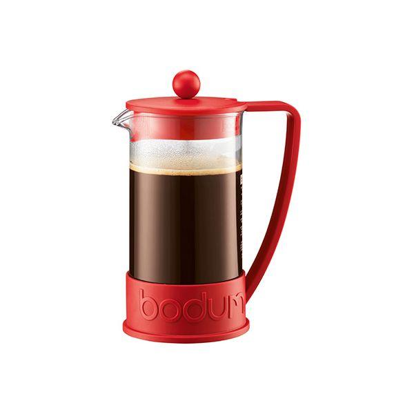 Bodum Brazil Coffee Press 3 Cup Red