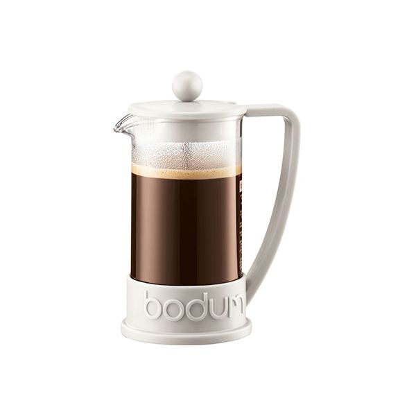 Bodum Brazil Coffee Press 3 Cup Off White