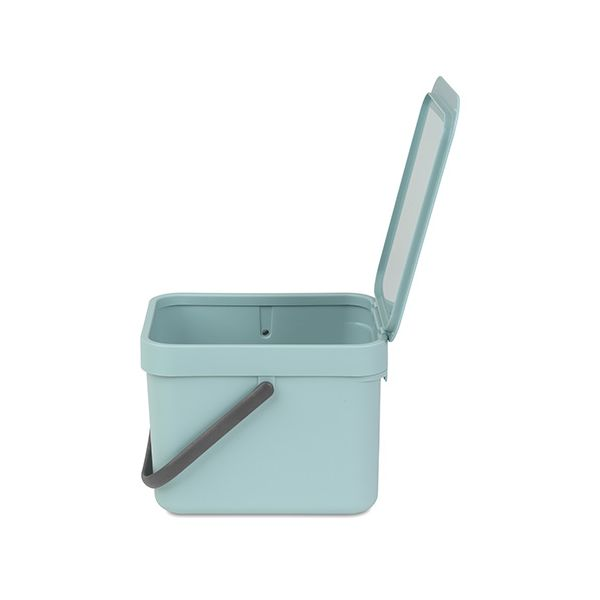 Brabantia Sort & Go Waste Bin 6 Litre Mint