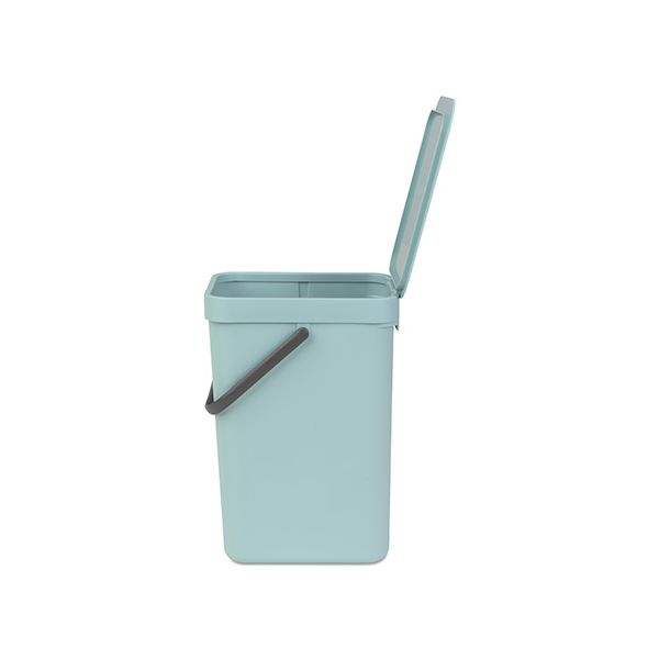 Brabantia Sort & Go Waste Bin 12 Litre Mint
