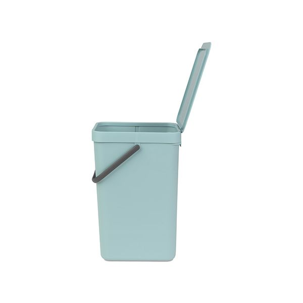 Brabantia Sort & Go Waste Bin 16 Litre Mint