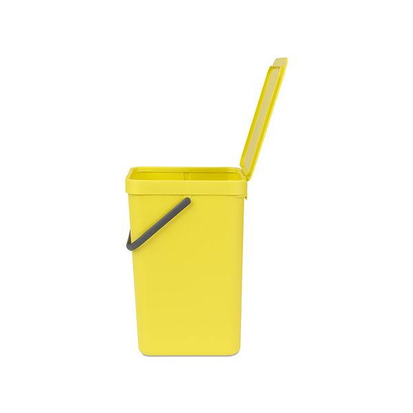 Brabantia Sort & Go Waste Bin 16 Litre Yellow