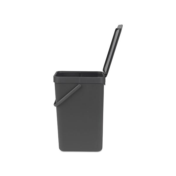 Brabantia Sort & Go Waste Bin 16 Litre Grey