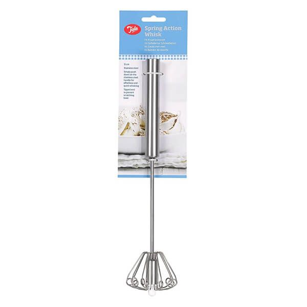 Tala Stainless Steel 31cm Spring Action Whisk