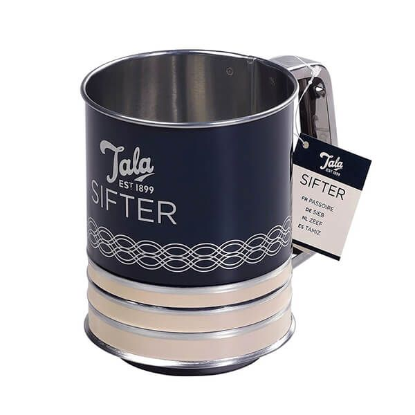 Tala Originals Indigo and Ivory Flour Sifter