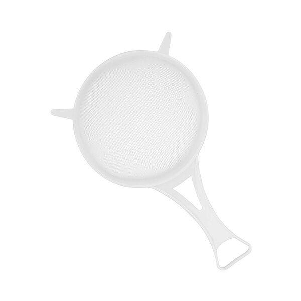 Chef Aid 12cm Strainer with White Plastic Mesh