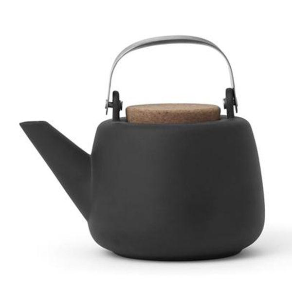 VIVA Scandinavia Nicola Grey Teapot 1L