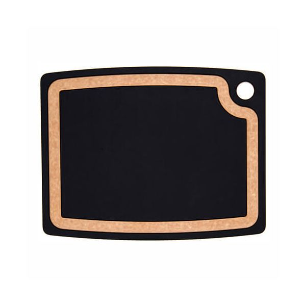 "Epicurean Signature Wood Composite Gourmet Series 14.5"" x 11.25"" Slate / Natural Cutting Board"