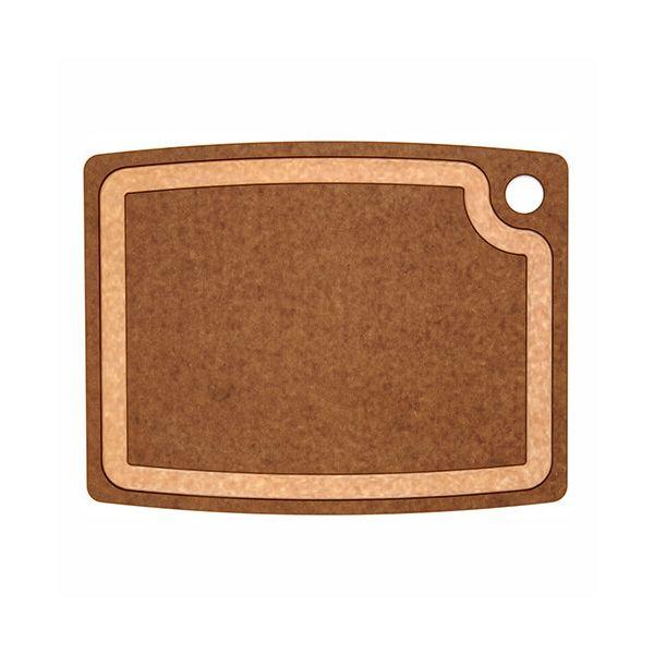 "Epicurean Signature Wood Composite Gourmet Series 14.5"" x 11.25"" Nutmeg / Natural Cutting Board"