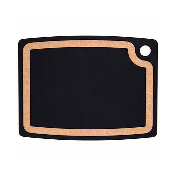 "Epicurean Signature Wood Composite Gourmet Series 17.5"" x 13"" Slate / Natural Cutting Board"