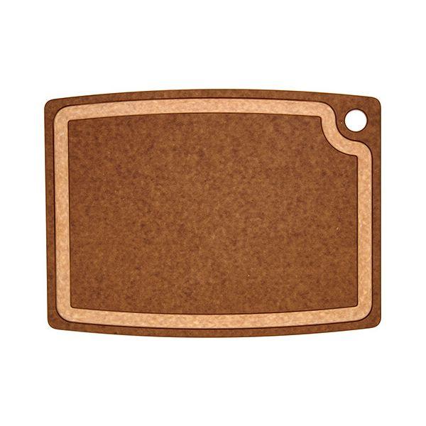 "Epicurean Signature Wood Composite Gourmet Series 17.5"" x 13"" Nutmeg / Natural Cutting Board"