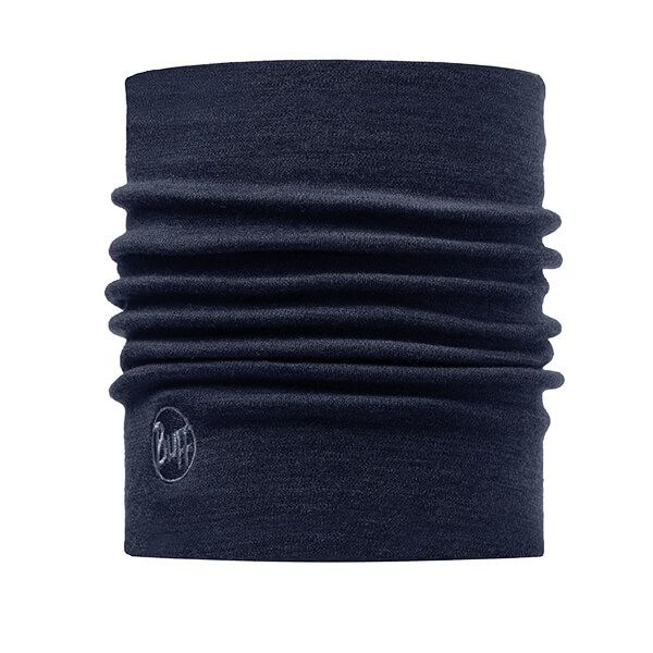 Buff Heavyweight Merino Wool Solid Denim Neckwear